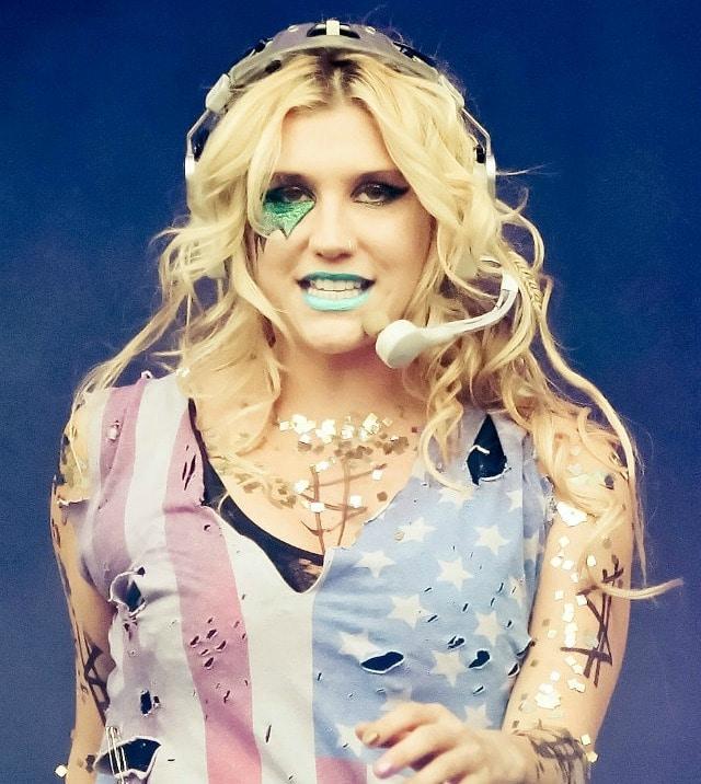Kesha Rose Sebert spends thousands of dollars each month on glitter.