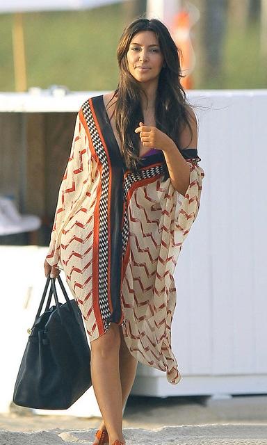 Kim Kardashian dress.