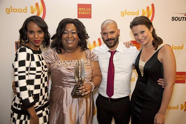 Shonda Rhimes Golden Gate Award.