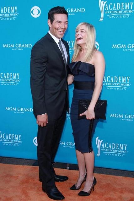 LeAnn Rimes and husband Eddie Cibrian.