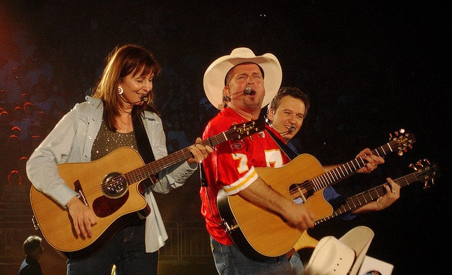 Garth Brooks The Dance, the favorite song.
