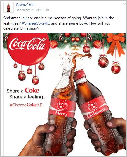 Coca Cola Advert
