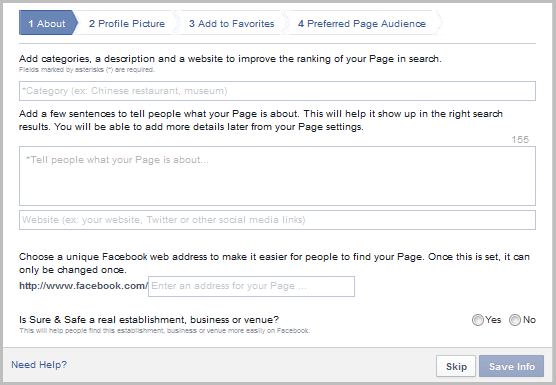 Facebook Fan Page Profile