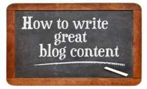 How to write great content for your blog that ranks