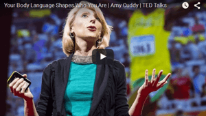 Social Psychologist Amy Cuddy TED Talk