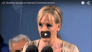 J.K Rowling Commencement Speech