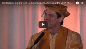 Jim Carrey Commencement Speech At Maharishi University
