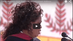 Oprah Winfrey Commencement Speech