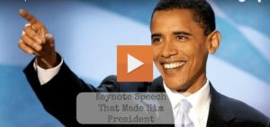 Barack Obama DNC Speech In 2004 That Made Him The President Of The United States Of America