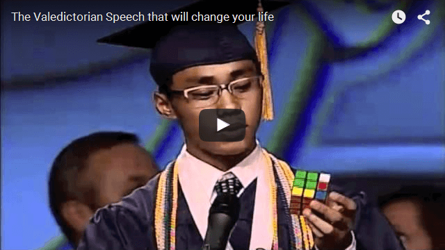 Is This The Best High School Valedictorian Speech Ever?