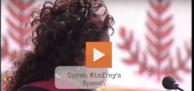 Oprah Winfrey Commencement Speech At Stanford University