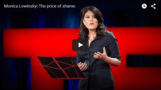 Monica Lewinsky TED Talk - The Price Of Shame