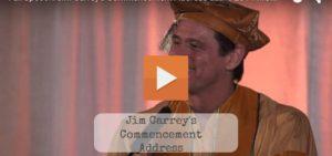 Comic Actor Jim Carrey Commencement Speech At Maharishi University, Management Class Of 2014