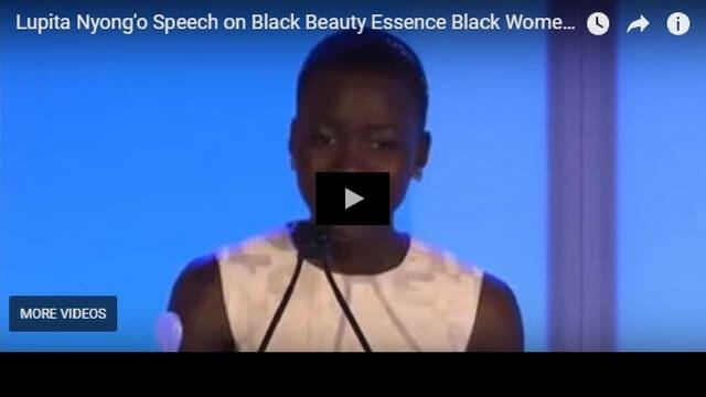 Lupita Nyong'o Speech
