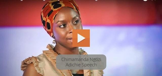 Novelist Chimamanda Ngozi Adichie TED Talk