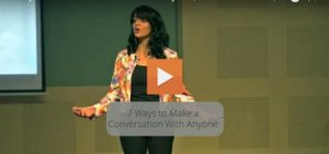 7 Ways to Make a Conversation With Anyone Speech By Malavika Varadan