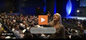 Ivy-Educated Criminal Lawyer Mel Robbins TED Talk On How To Stop Screwing Yourself Over