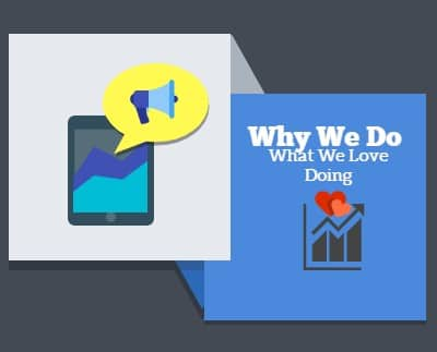 Why We Do What We Love Doing Here @Bloglingo.Com