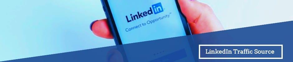 Send LinkedIn Traffic To Your Website