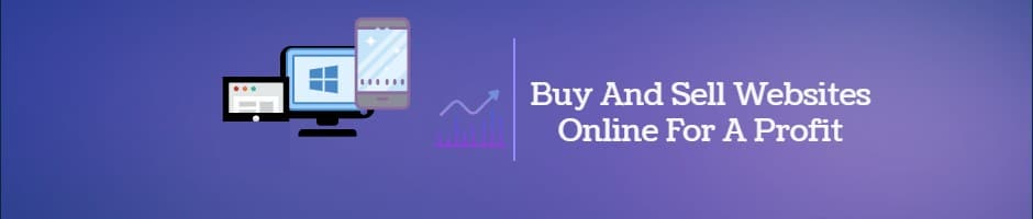 Buy And Sell Websites Online For Profit