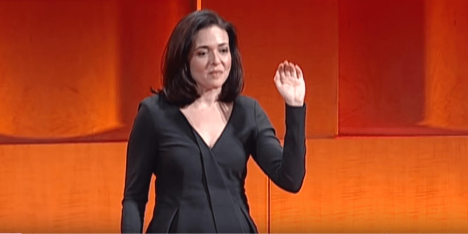 Sheryl Sandberg TED Talk Featured Image