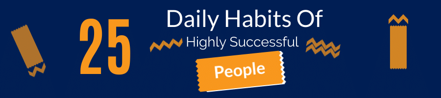 25 Daily Habits Of Highly Successful People Nav Image