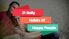 Daily Habits Of Happy Home Image