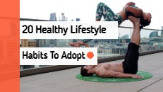 20 Healthy Lifestyle Habits Home Image