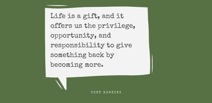 Inspirational quote by Tony Robbins