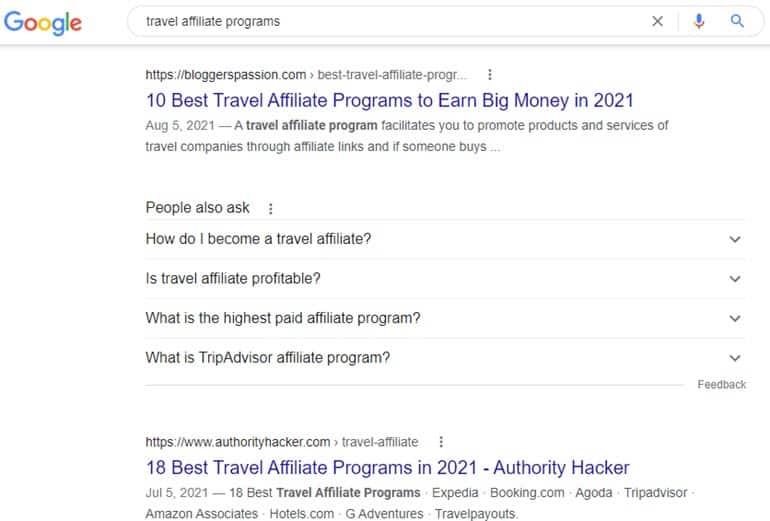 Travel Affiliate Programs To Join